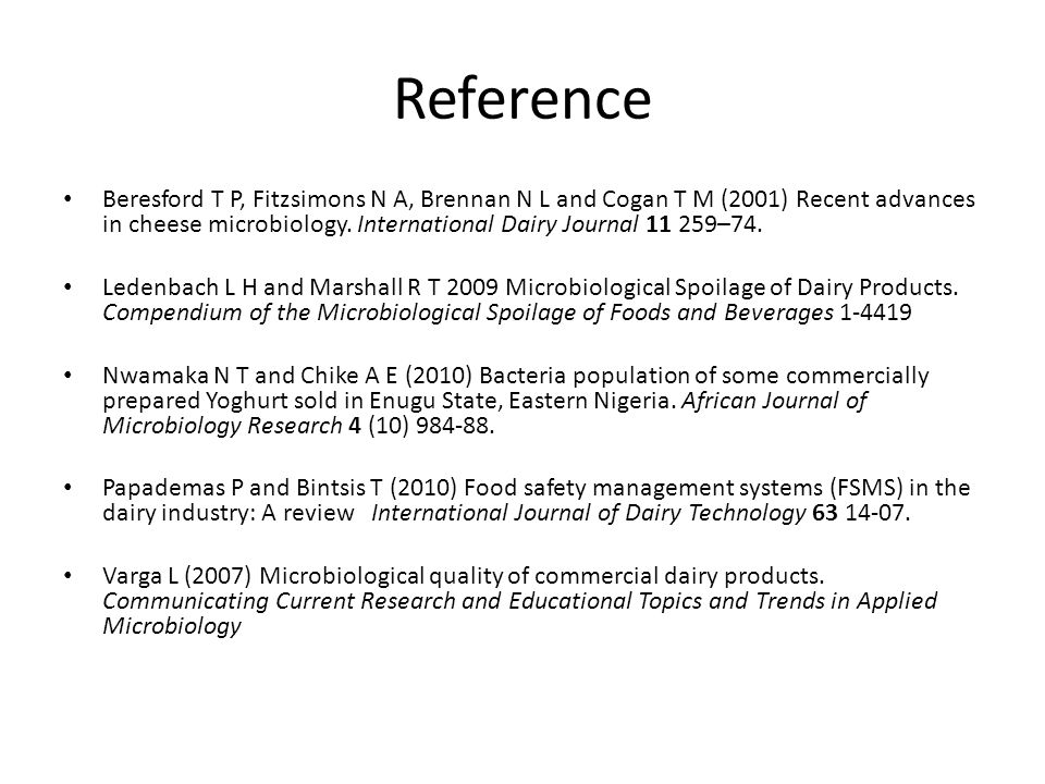 Reference Beresford T P, Fitzsimons N A, Brennan N L and Cogan T M (2001) Recent advances in cheese microbiology.