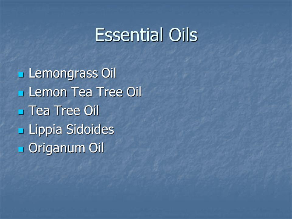 Essential Oils Lemongrass Oil Lemongrass Oil Lemon Tea Tree Oil Lemon Tea Tree Oil Tea Tree Oil Tea Tree Oil Lippia Sidoides Lippia Sidoides Origanum Oil Origanum Oil