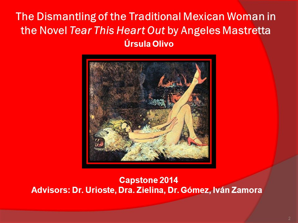 According to Octavio Paz… Like in almost all towns, Mexicans consider women as objects that are ought to please men's desires, follow the law and the moral rules society has assigned for them… In a world made to see through men's eyes; women are just the reflection of men and not their individual self.