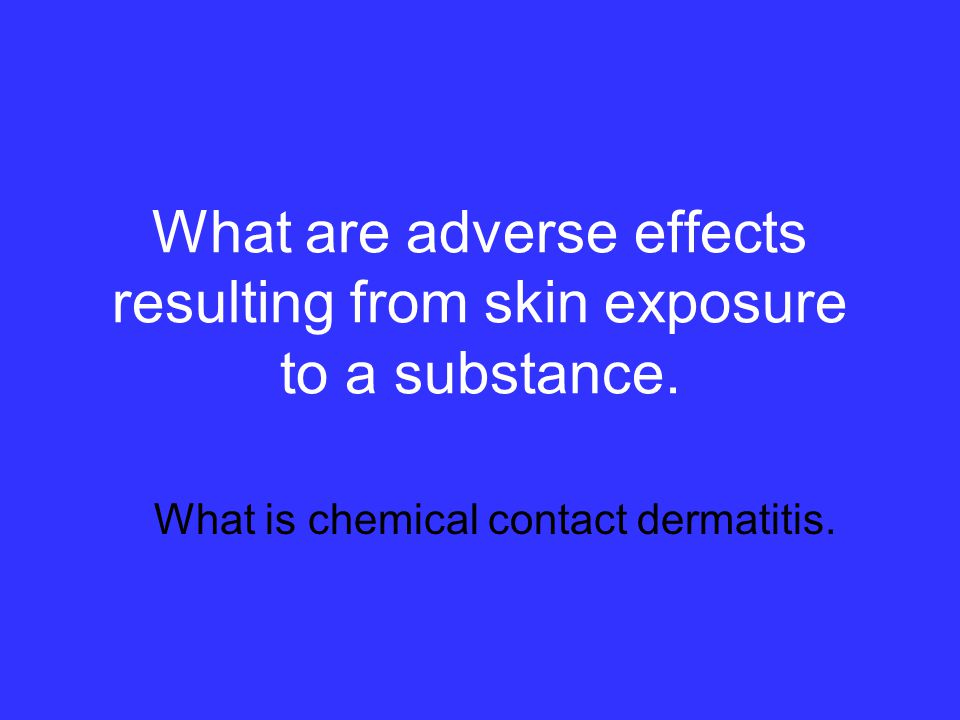 What is an adverse effect on a human or animal body, with symptoms which develop slowly over a long period of time then could reoccur with frequency.