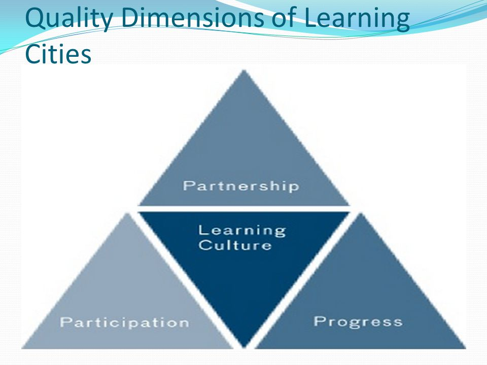 Quality Dimensions of Learning Cities