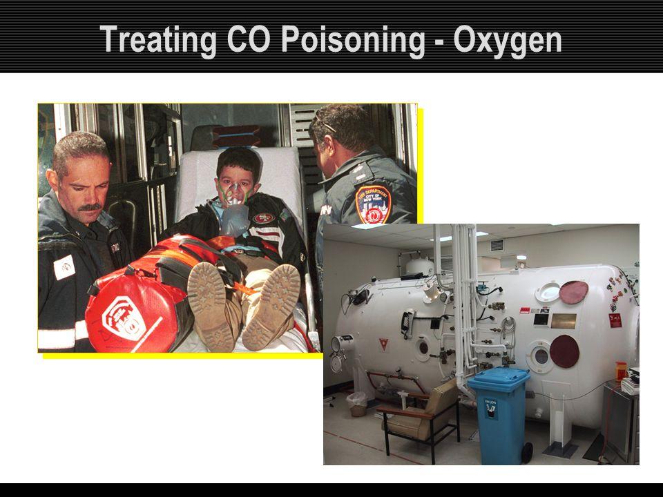 Treating CO Poisoning - Oxygen