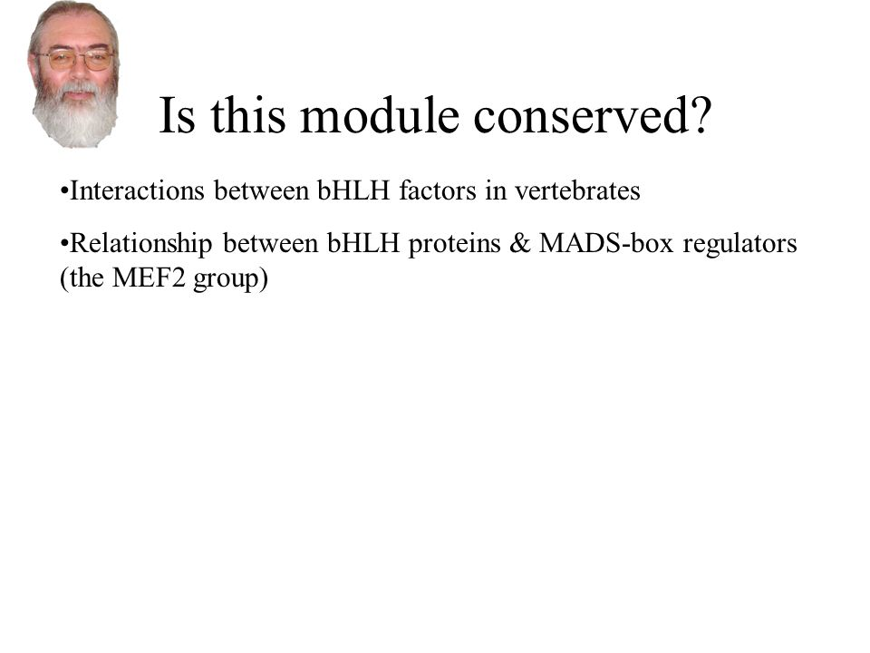Is this module conserved.
