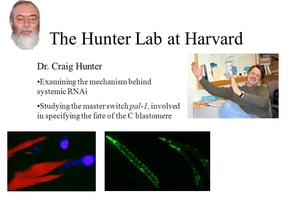 The Hunter Lab at Harvard Dr.