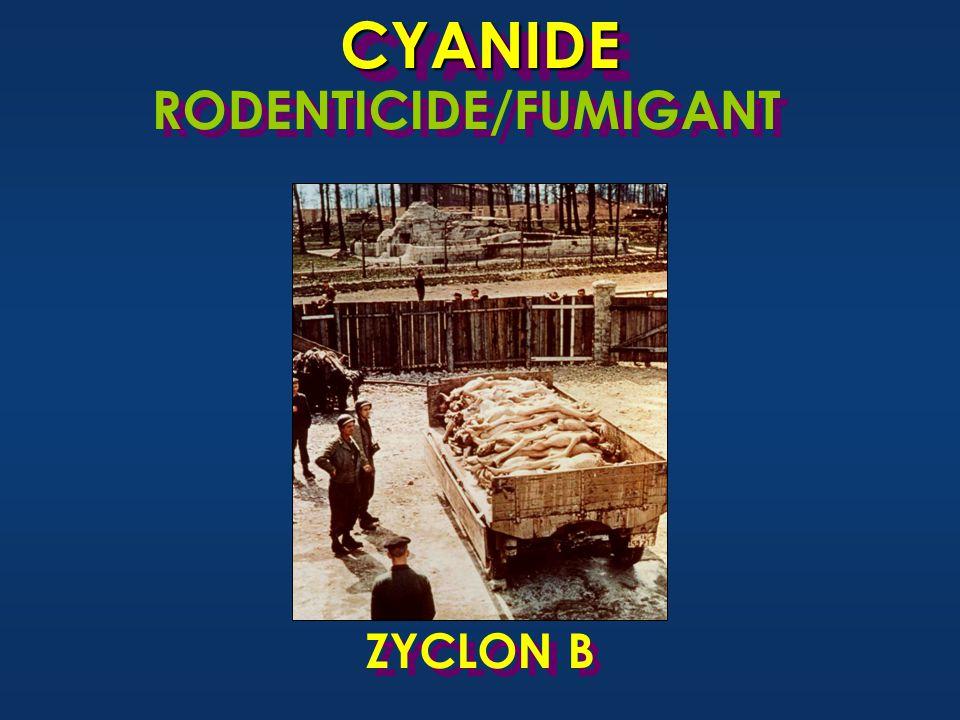 CYANIDECYANIDE RODENTICIDE/FUMIGANT ZYCLON B