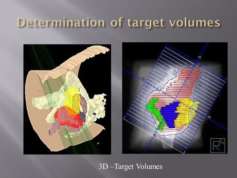 3D –Target Volumes