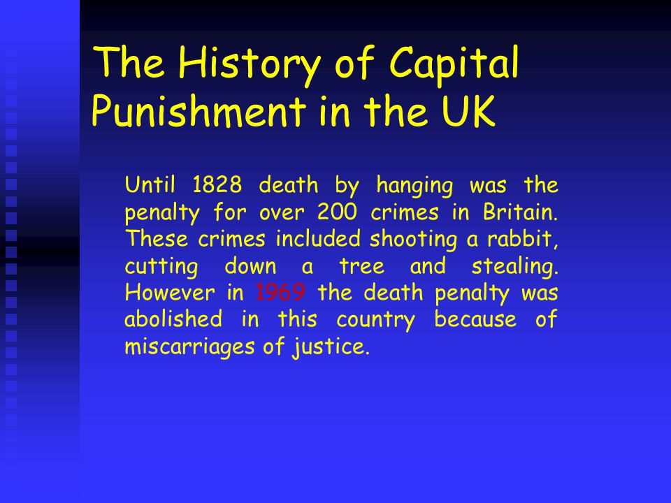 a history of capital punishment in different societies A brief history of capital punishment in the united kingdom death penalty for more than 20 different the abolition of the death penalty in the united.