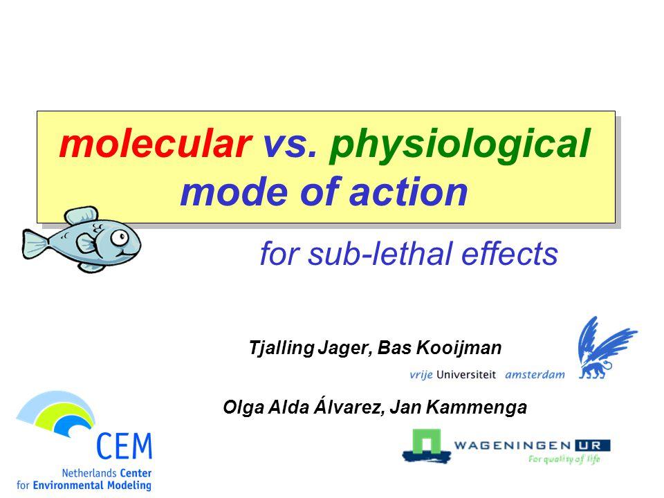 molecular vs.