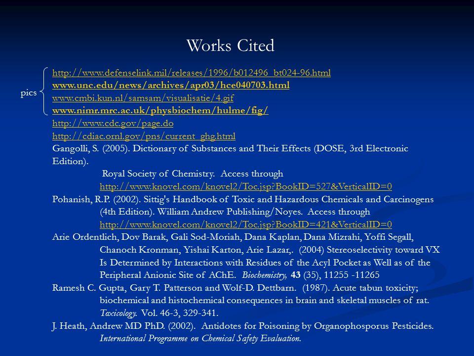 http://www.defenselink.mil/releases/1996/b012496_bt024-96.html www.unc.edu/news/archives/apr03/hce040703.html www.cmbi.kun.nl/samsam/visualisatie/4.gif www.nimr.mrc.ac.uk/physbiochem/hulme/fig/ http://www.cdc.gov/page.do http://cdiac.ornl.gov/pns/current_ghg.html Gangolli, S.