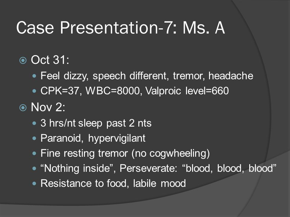 Case Presentation-7: Ms.