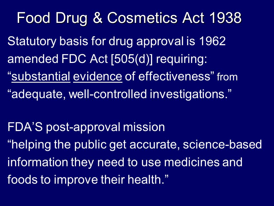 Conflict of Interest Derailed FDA Rx Drug User Fee Act, 1992 FDA financially dependent on industry FDA Modernization Act, 1997 Fast-track approval overrides safety Financial incentives to test drugs on kids FDA Chief Counsel (2001-2004) Daniel Troy Daniel Troy argued: deceptive marketing is protected under 1 st amendment