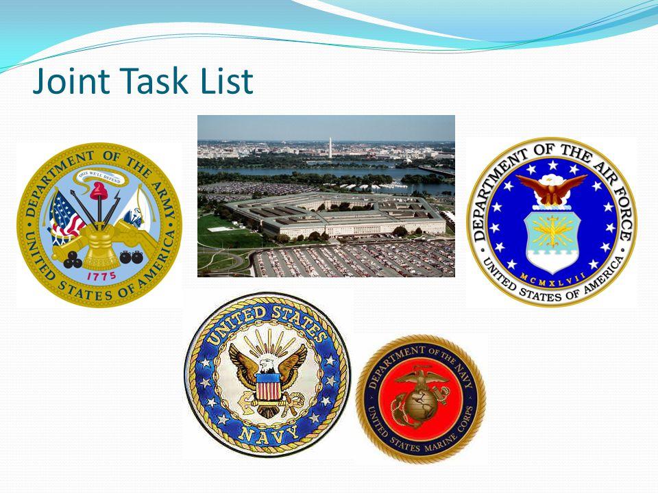 Joint Task List