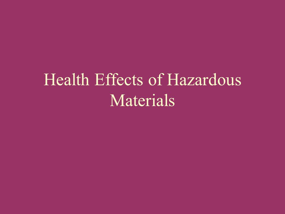 Reaction Chemicals can combine and form new harmful substances i.e.