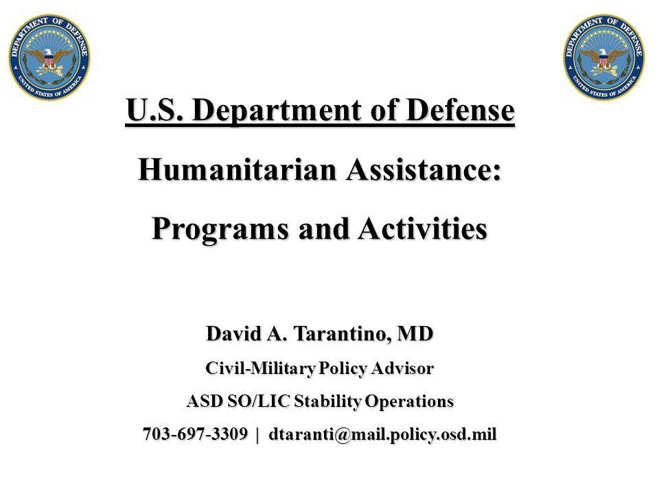 Office of the Secretary of Defense (OSD)