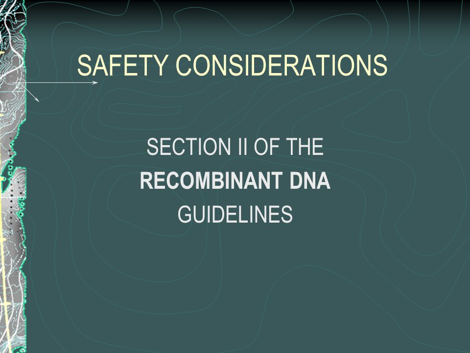 IRB GENE THERAPY EVALUATION It is the responsibility of the IRB to determine: the risks to subjects (research participants) the anticipated benefits to subjects the importance of the knowledge that may reasonably be expected to result the informed consent process to be employed