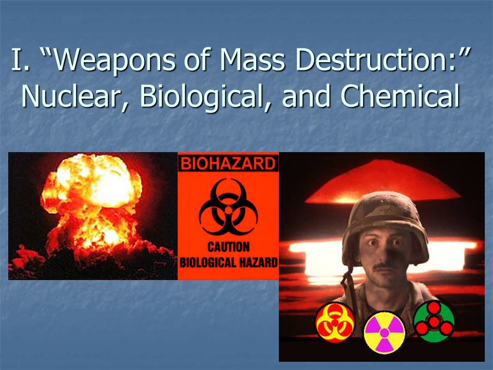 D. Proliferation 1. Suspected Arsenals (May 2003): 9 Nuke, 5 Bioweapon, 11 Chemical ?