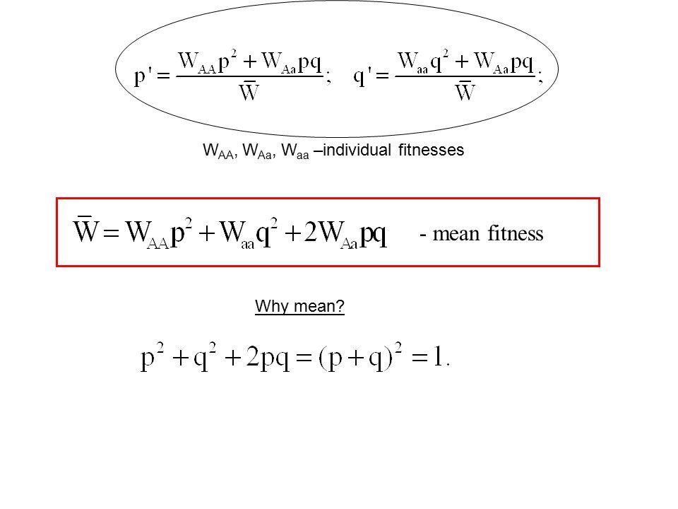 Selection against a recessive allele. Trajectories.