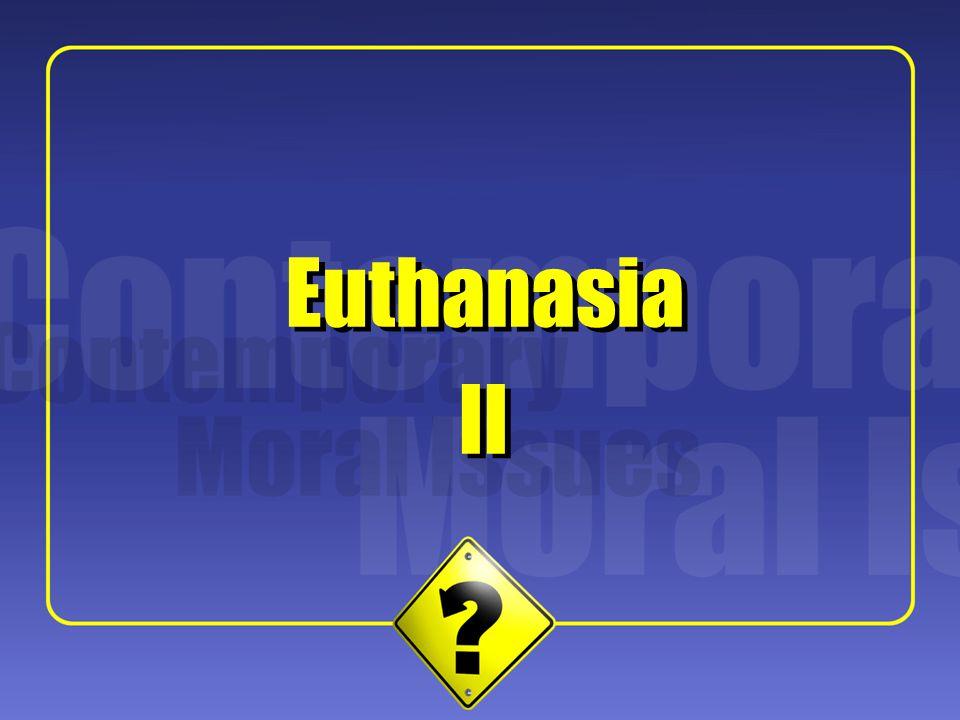 1 II Euthanasia