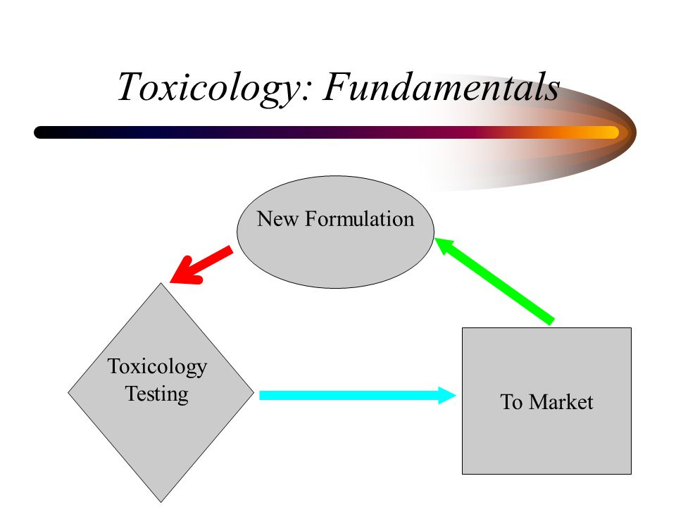 Toxicology: Fundamentals New Formulation Toxicology Testing To Market
