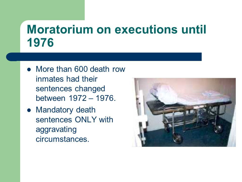 Statistics on the Death Penalty in the US In 2007 - 42 inmates were executed in the country.
