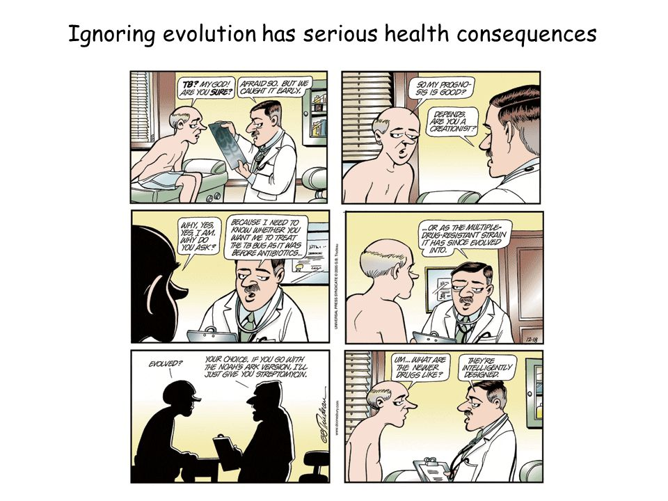 Ignoring evolution has serious health consequences