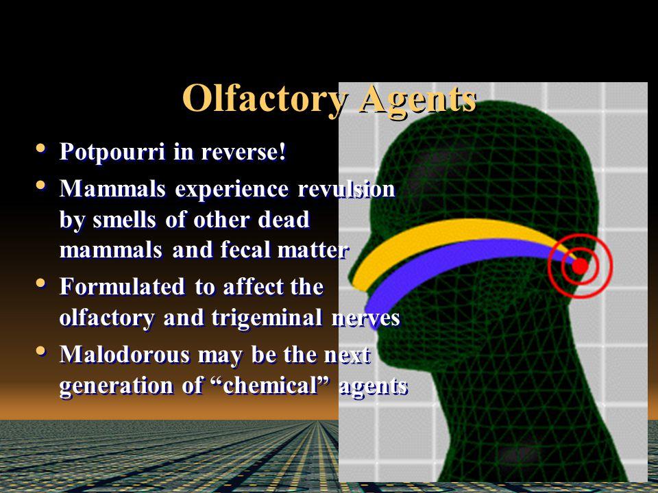Olfactory Agents Potpourri in reverse.