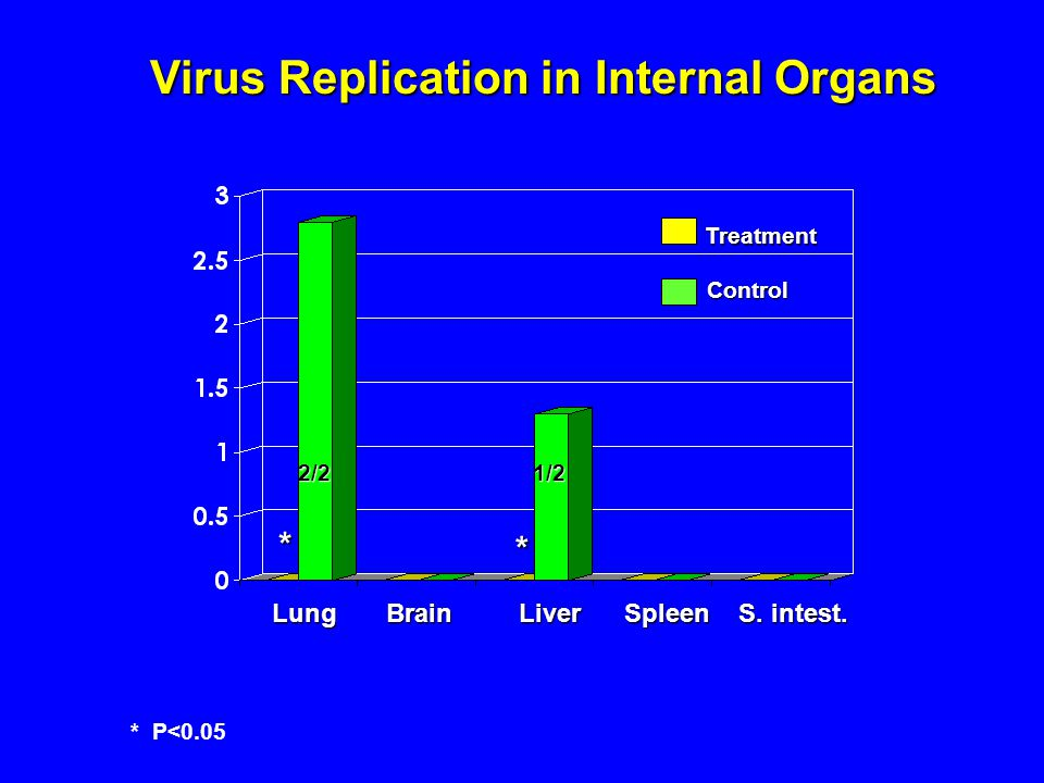 Virus Replication in Internal Organs Lung Brain Liver Spleen S.