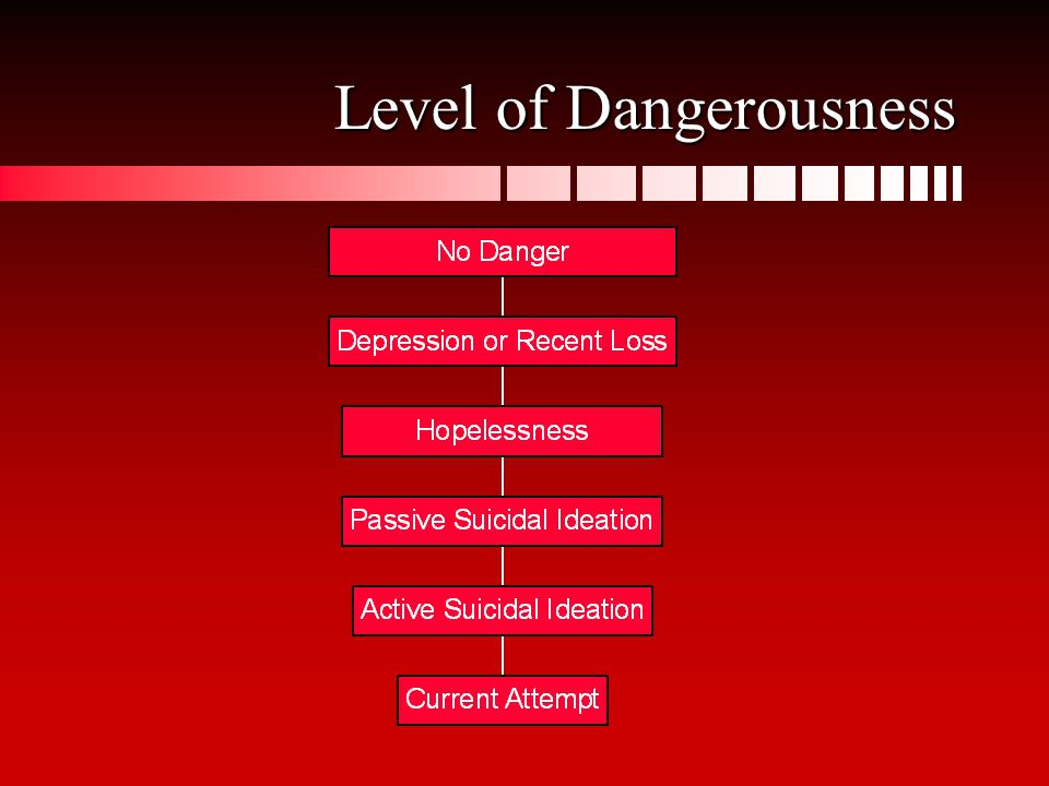 Level of Dangerousness