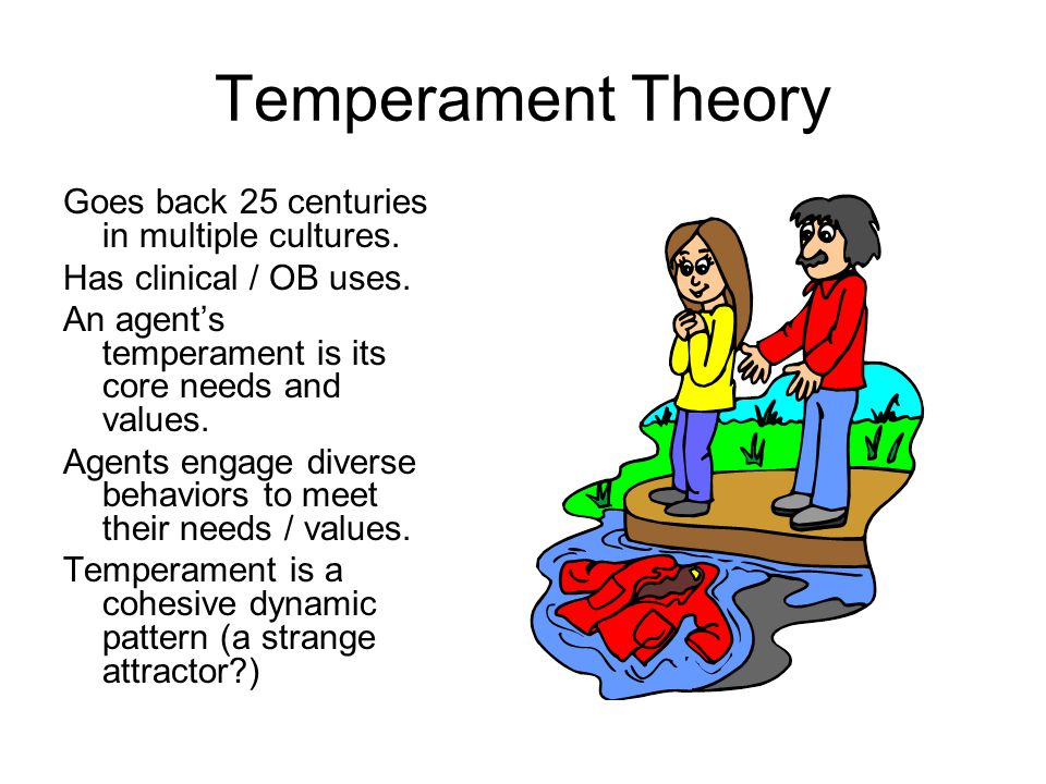 Temperament Theory Goes back 25 centuries in multiple cultures.
