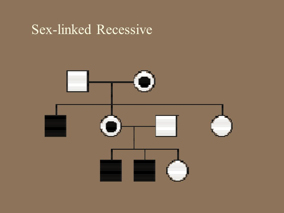 Sex-linked Recessive