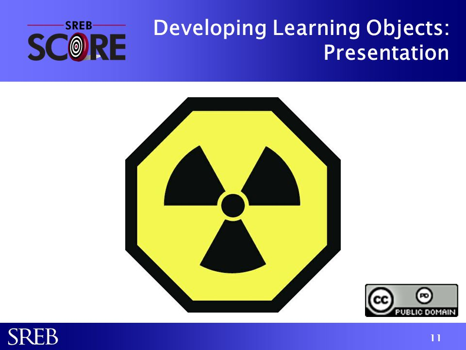 Developing Learning Objects: Presentation 11
