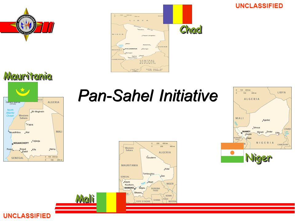 UNCLASSIFIED UNCLASSIFIED Background The Pan-Sahel Initiative (PSI) is a Department of State (DoS) initiative developed in response to the Sahel being identified as the USG's number two focus in Africa (the Horn remains number one) in the War on Terrorism.