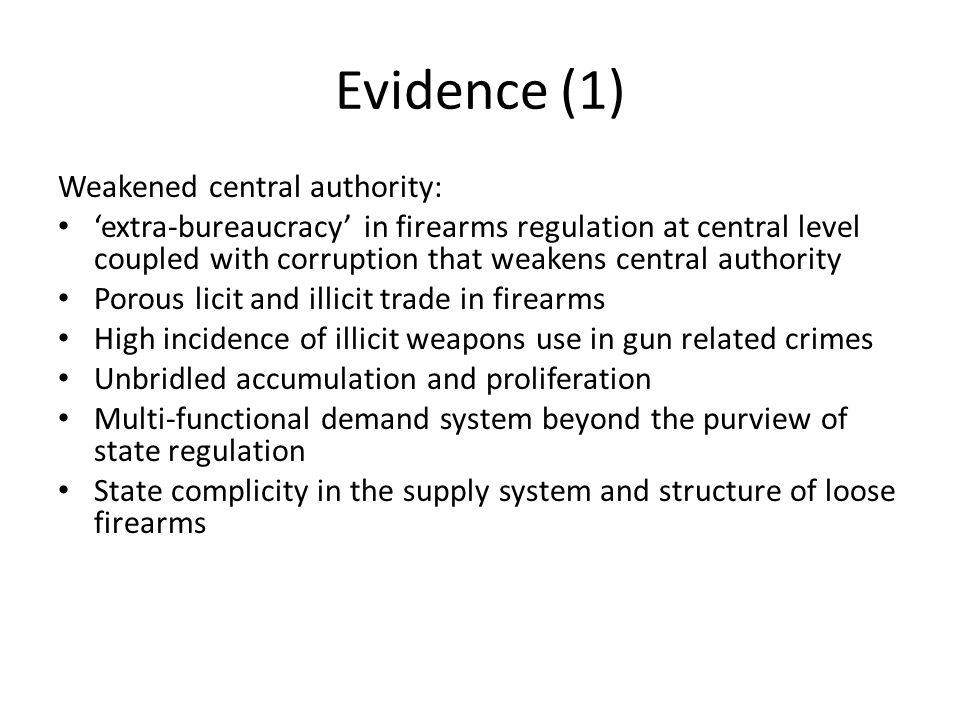 Gun Crimes, Philippines 2008-2010