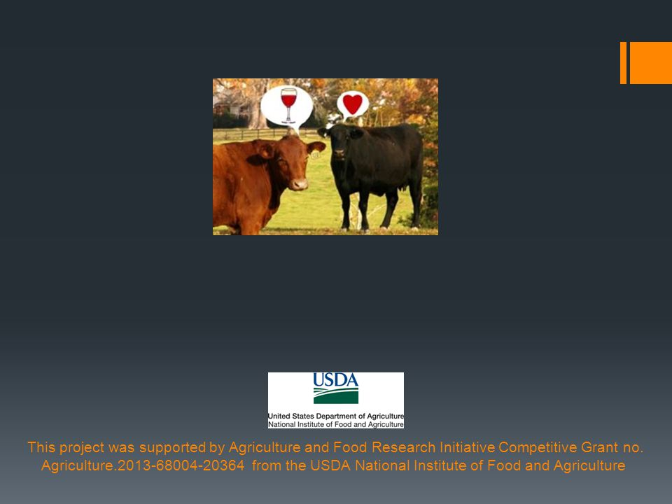 This project was supported by Agriculture and Food Research Initiative Competitive Grant no.