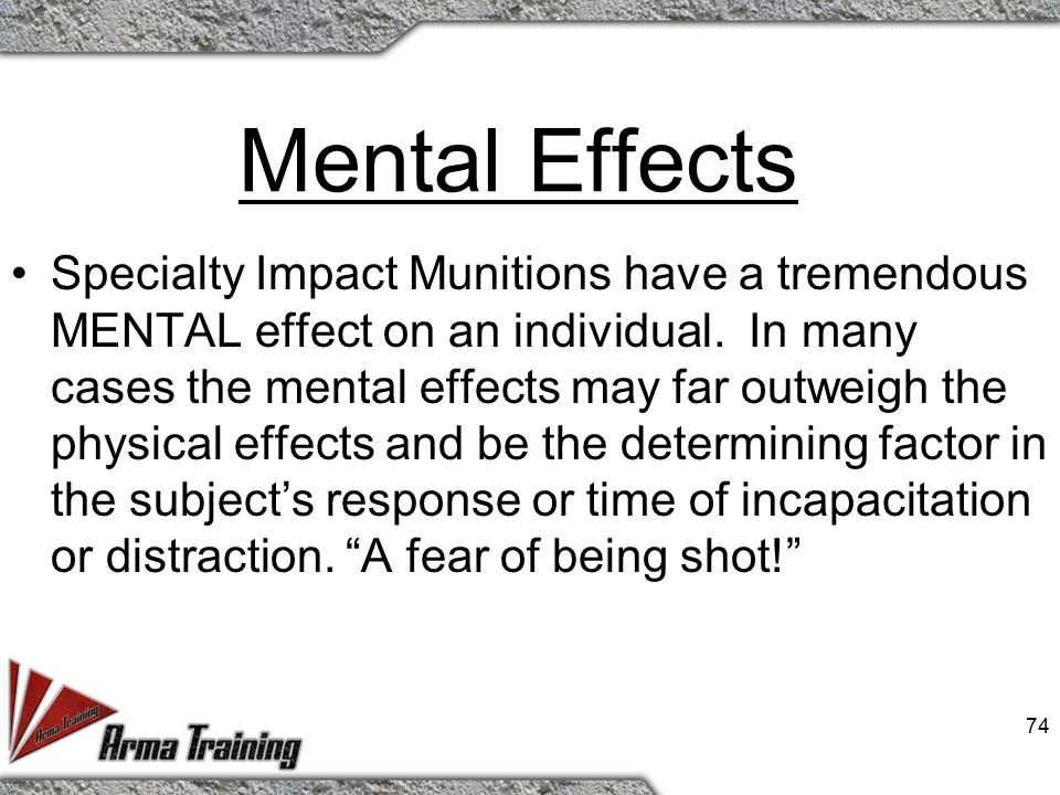 Cause & Effect of Rounds Mental - Discuss Physical - Discuss 73