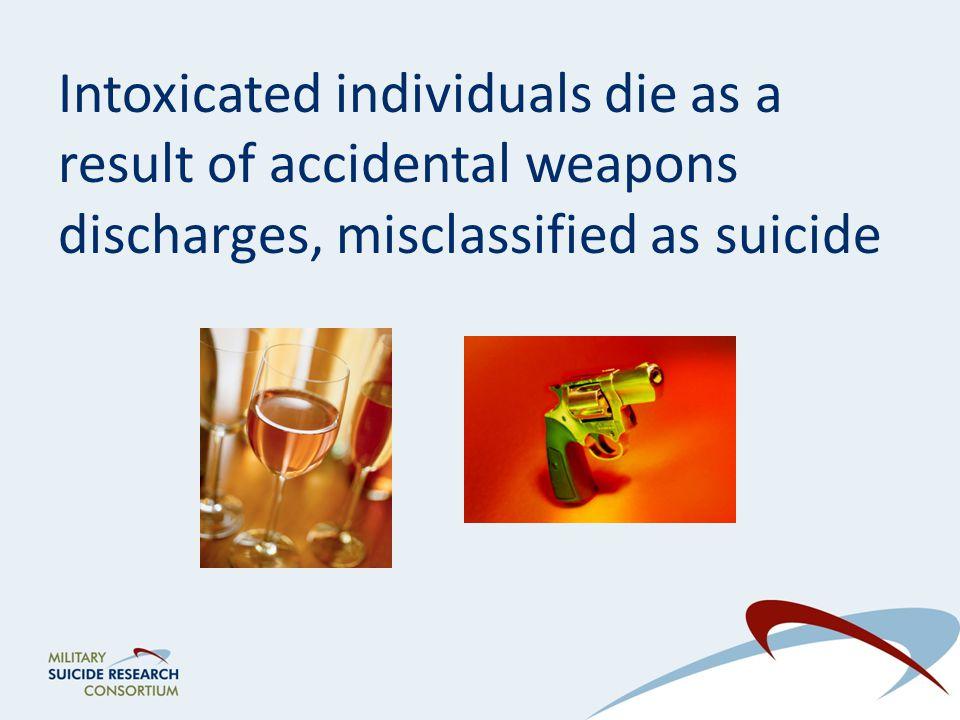 Intoxication facilitates impulsive self-directed violence