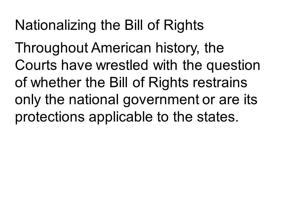 The 1 st Amendment