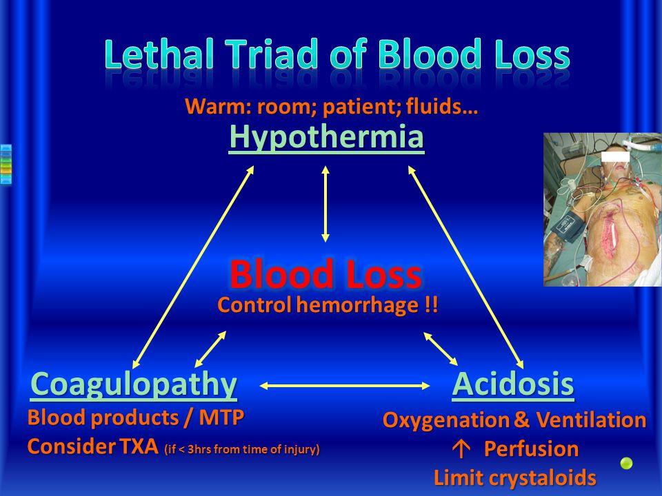 Control hemorrhage !.