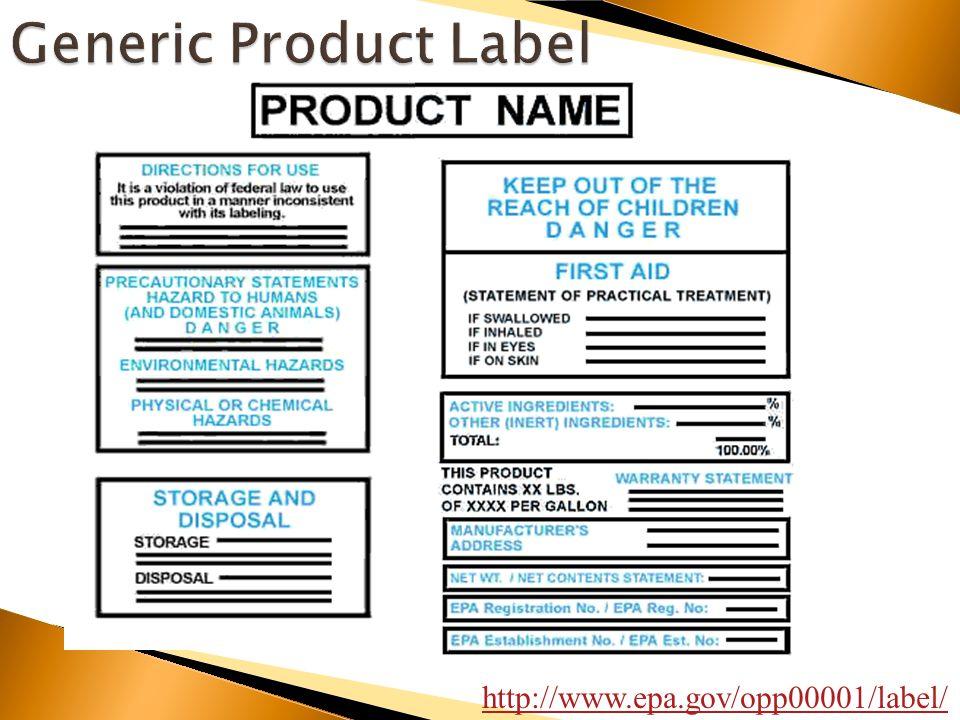 http://www.epa.gov/opp00001/label/