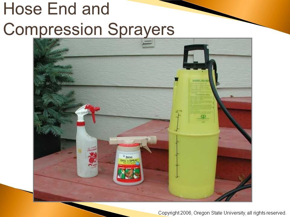 Hose End and Compression Sprayers