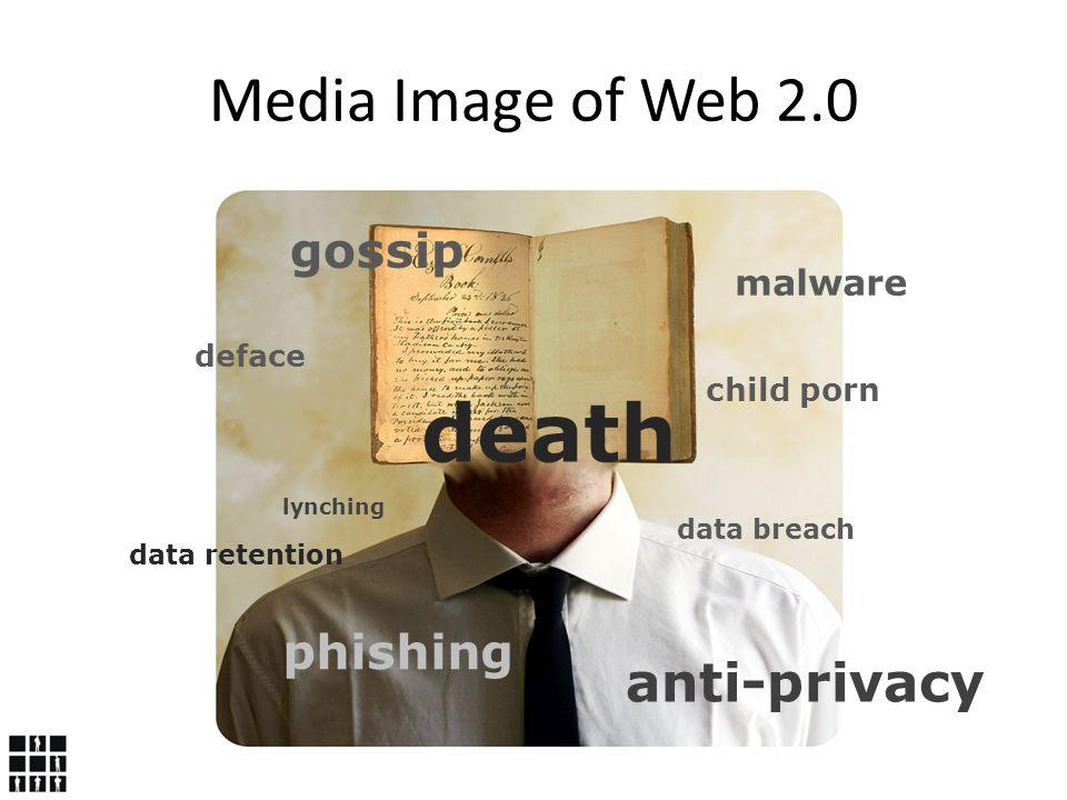 malware deface data breach gossip phishing death lynching anti-privacy child porn data retention Media Image of Web 2.0