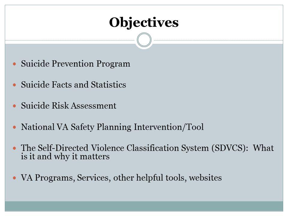 Initiation -Suicide Prevention Program 2007 Joshua Omvig Veterans Suicide Prevention Act