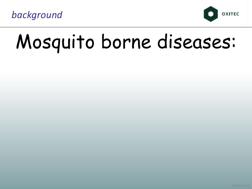 oxitec.com background Mosquito borne diseases: