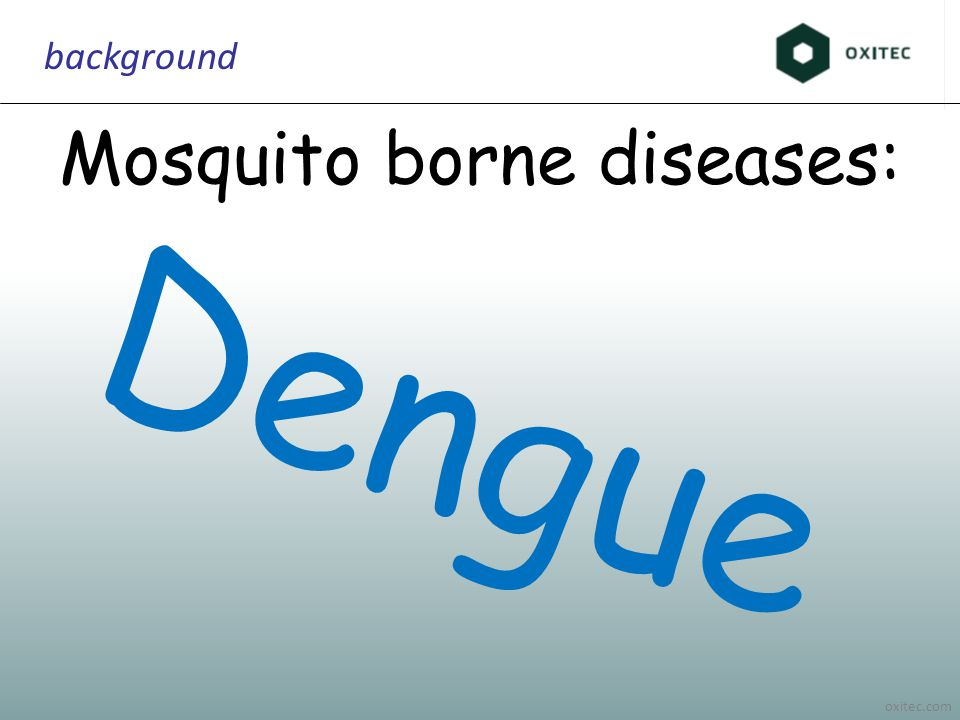 oxitec.com background Mosquito borne diseases: Dengue