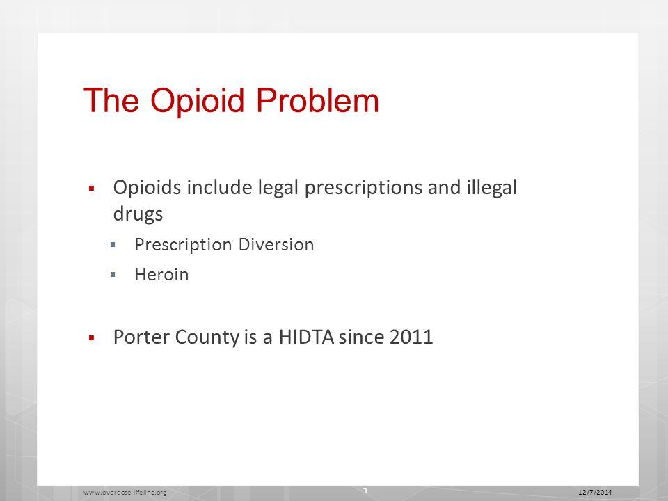 Opioids by Age 12/7/2014 www.overdose-lifeline.org 14