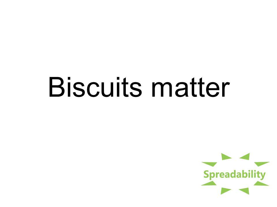 Biscuits matter