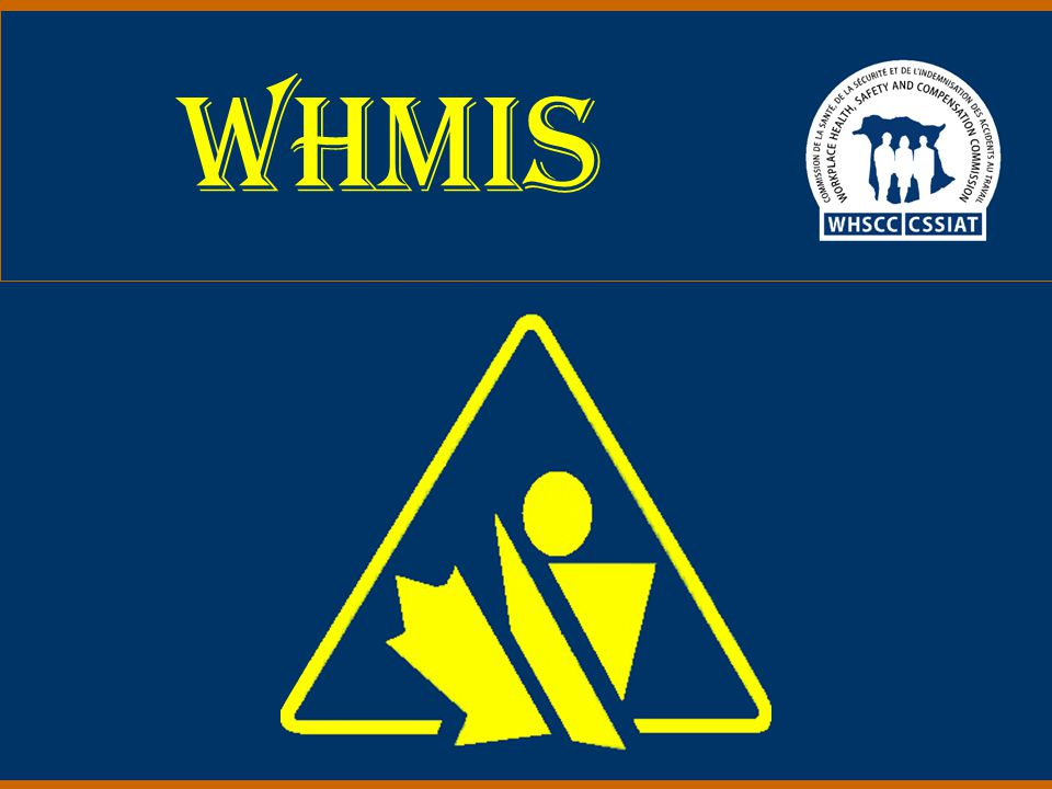 2003 52 Exceptions to the rule… Eight classifications exempt from WHMIS labeling and MSDS requirements.