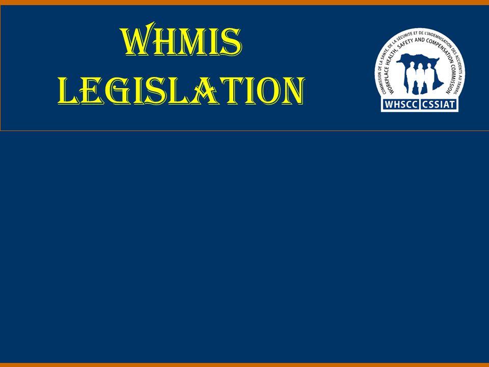 WHMIS Legislation