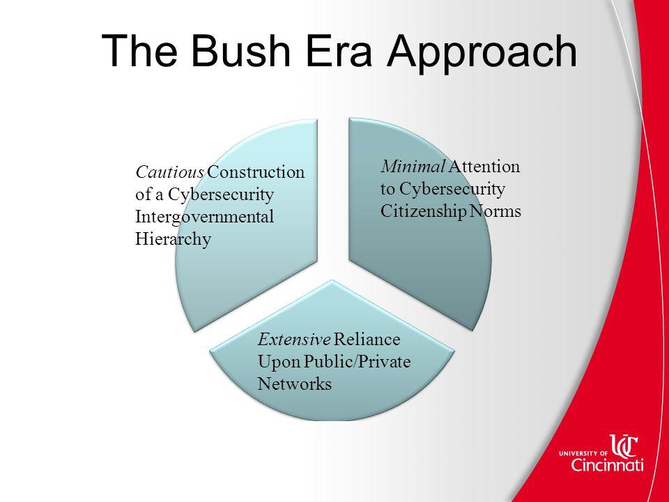 The Bush Era Approach