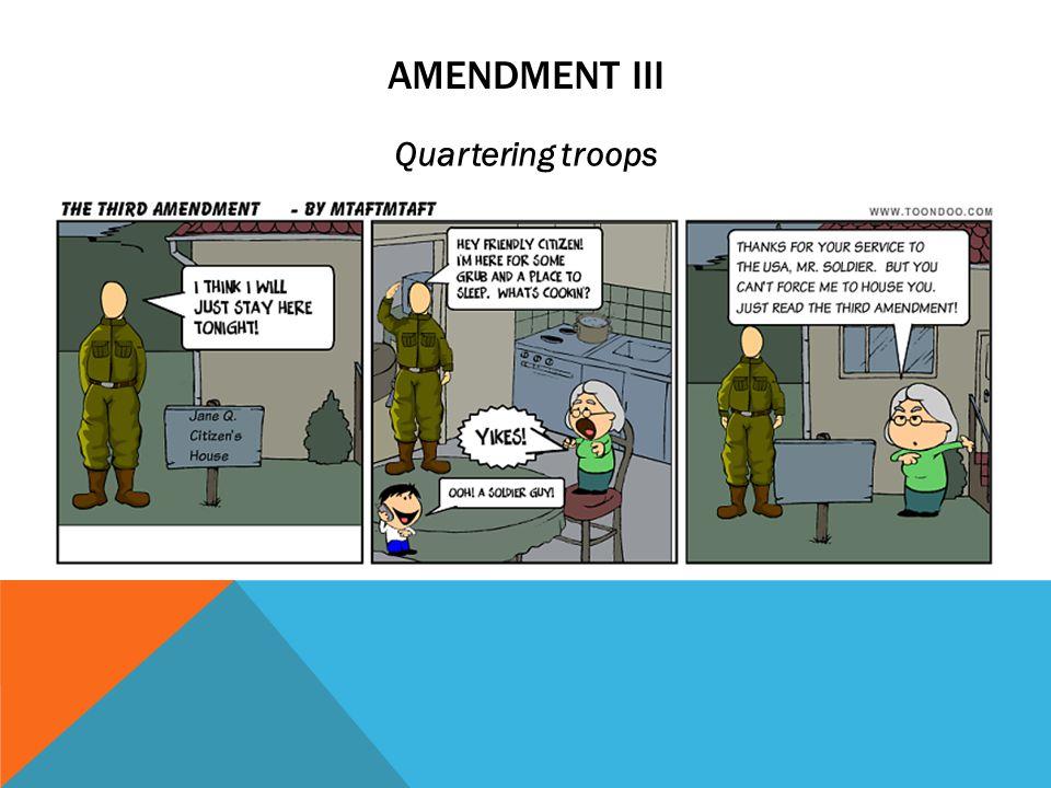 AMENDMENT II Right to bear arms